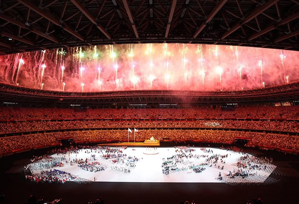 Tokyo Paralimpik Oyunları'nın açılış töreni yapıldı  - 8. Foto