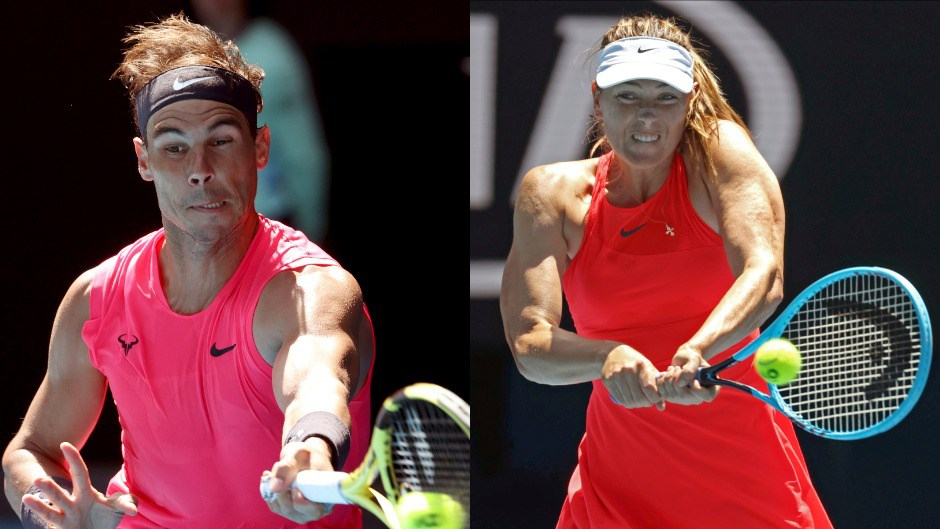 Avustralya Açık'ta Nadal turladı, Sharapova elendi