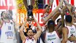 THY Euroleague şampiyonu Anadolu Efes, kupasını aldı