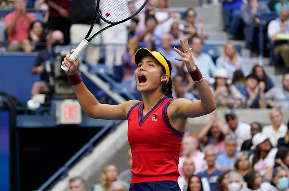 Amerika Açık'ta şampiyon 18 yaşındaki Raducanu!