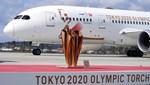 Olimpiyat ateşi Tokyo'ya ulaştı