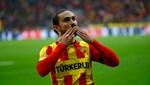 Gürsel Aksel Stadı'nda ilk gol Halil Akbunar'dan
