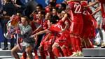 Bayern Münih'in zaferinden kareler