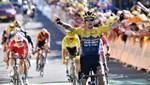 Fransa Bisiklet Turu'nun 4. etabını Primoz Roglic kazandı