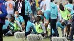 Seyircisiz maçta Demba Ba'ya tribünden şişe atıldı
