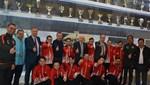 TFF Başkanı Nihat Özdemir, özel sporcularla buluştu