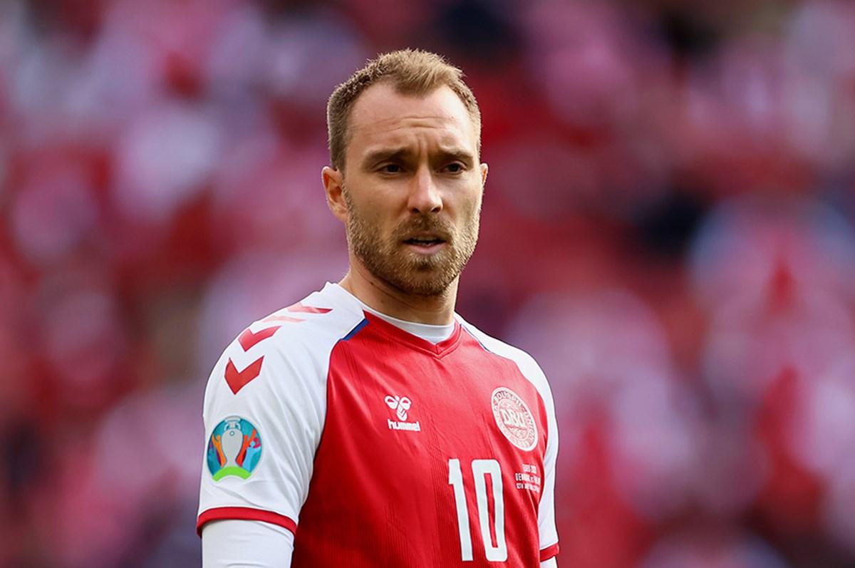 Maçın oyuncusu Christian Eriksen