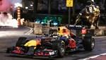 Red Bull'un şampiyon aracı New York sokaklarında