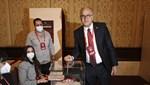 TVF'de Mehmet Akif Üstündağ yeniden başkan seçildi