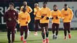 Galatasaray, ikinci yarı hazırlıklarına başladı