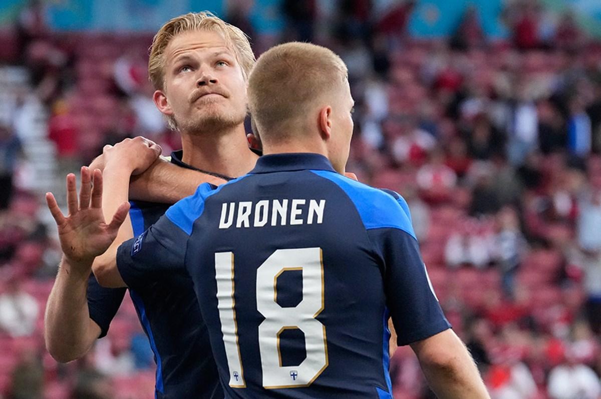 Joel Pohjanpalo'dan Finlandiya tarihine geçen gol