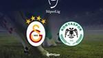 Galatasaray - İttifak Holding Konyaspor (Canlı Anlatım)