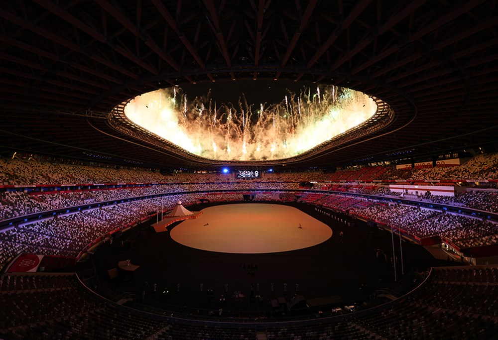Tokyo 2020'nin açılış seremonisi gerçekleştirildi  - 5. Foto