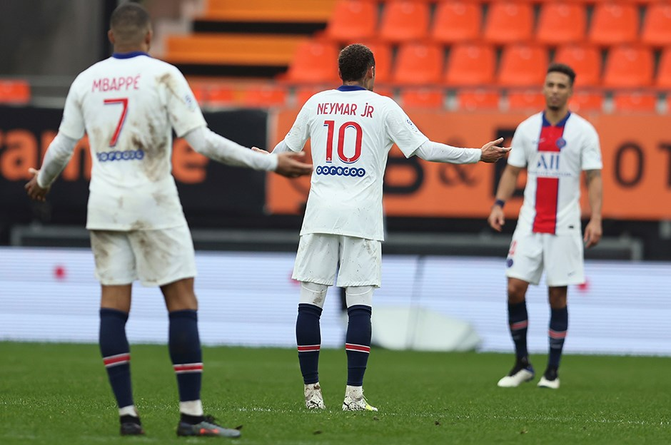Lorient 3-2 Paris Saint-Germain (Maç sonucu) | NTVSpor.net