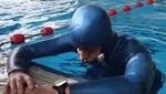 Suyun altında 24 dakika 33 saniye