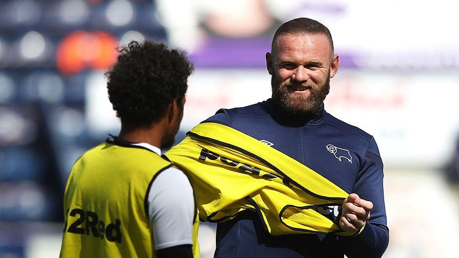 Derby'nin yeni menajeri Wayne Rooney