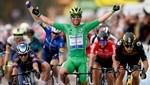 10. etabı Mark Cavendish kazandı