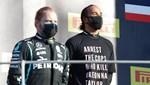 Hamilton tişört nedeniyle ceza alabilir