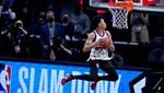NBA All-Star Smaç Yarışıması'nı Anfernee Simons kazandı